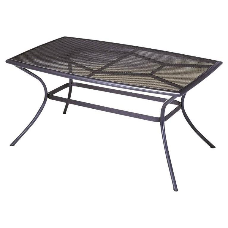 Gartentisch Vega (90X150 Aluminium Anthrazit) Preiswert von Gartentisch 90X90 Dänisches Bettenlager Bild