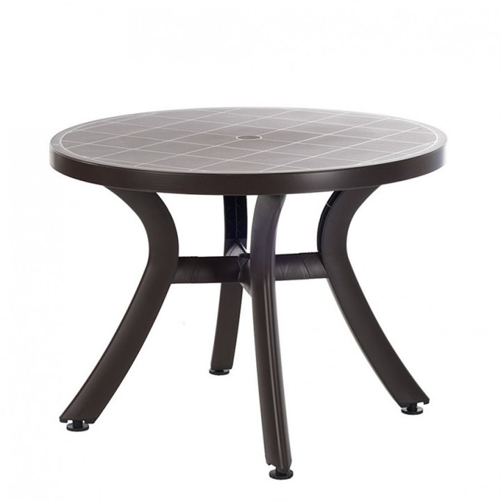 Gartentisch Von Best Freizeitmöbel Bei Home24 Bestellen  Home24 von Gartentisch Rund Kunststoff Weiß Bild