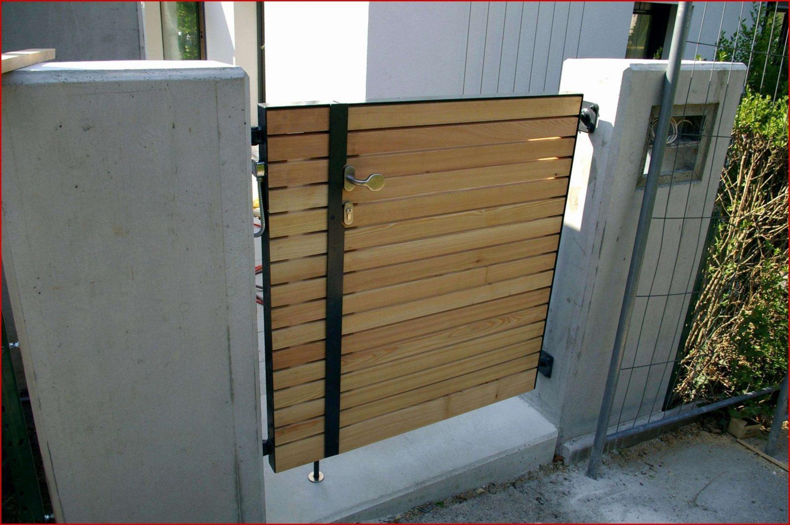 Gartentor Selber Bauen Holz Designideen Von Zaun Bauen Anleitung von Gartentor Selber Bauen Anleitung Bild