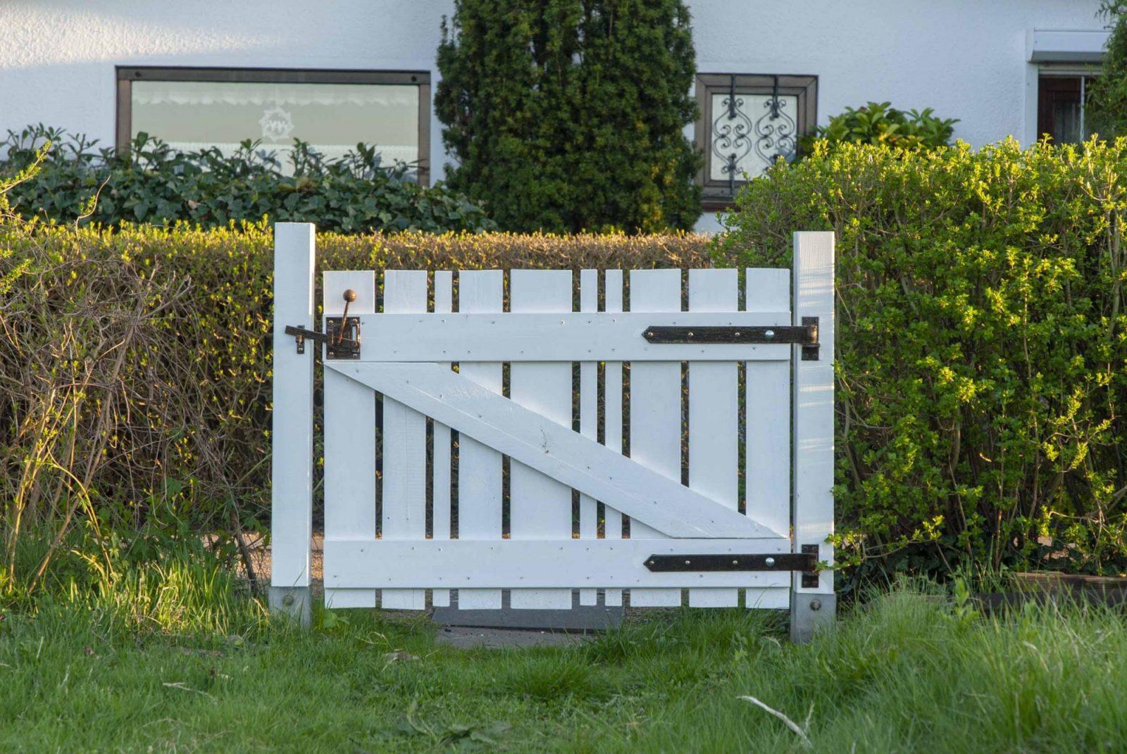 Gartentor Selber Bauen Schritt Für Schritt Erklärt – Mit Vielen von Gartentor Aus Holz Selber Bauen Bild