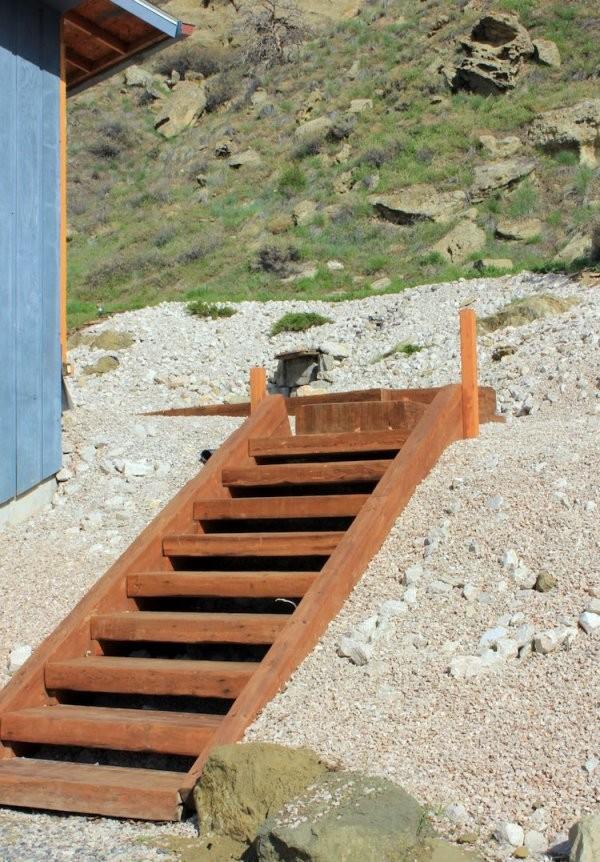 Gartentreppe Selber Bauen  47 Gestaltungsideen Und Tipps von Außentreppe Holz Selber Bauen Bild