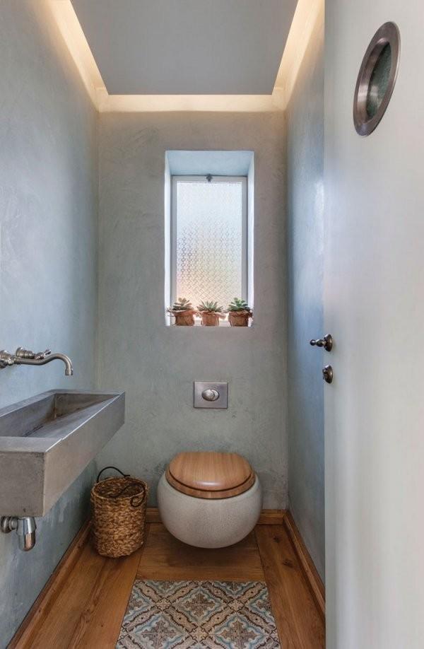 Gäste Wc Gestalten  16 Schöne Ideen Für Ein Kleines Bad von Gäste Wc Fliesen Gestaltung Photo