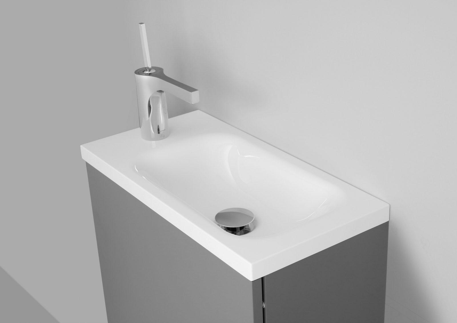 Gäste Wc Waschbecken Mit Unterschrank Made In Germany von Wc Waschtische Mit Unterschrank Bild