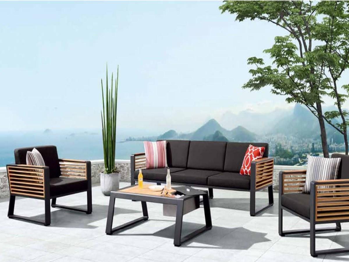 Gastronomie Terrassenmöbel  Günstige Gartenmöbel Kaufen  Stuhlwerkeu von Outdoor Möbel Gastronomie Gebraucht Bild