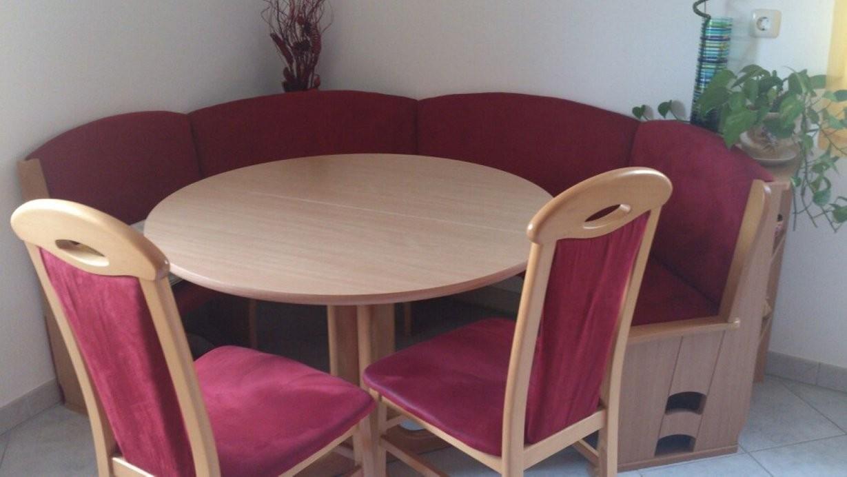 Gebraucht Runde Eckbank Mit 2 Stühlen Und Tisch In Ideen Von Eckbank von Eckbank Für Runden Tisch Bild