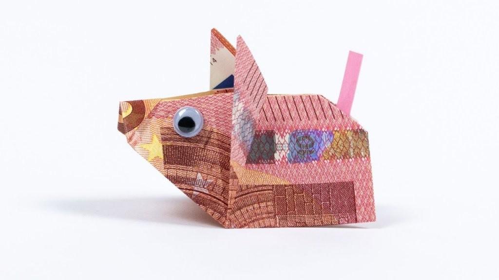 Geld Falten Maus Geldgeschenk Zur Hochzeit 🐭  Youtube von Maus Aus Geldschein Falten Photo