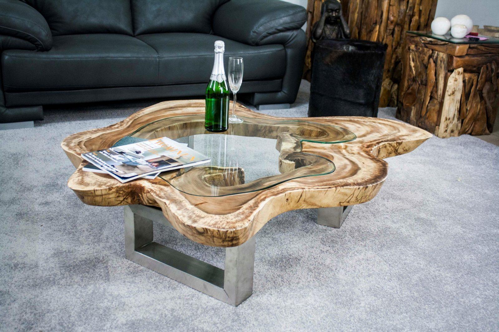 Genial Baumscheibe Couchtisch Eindruck 3407 von Tisch Baumscheibe Selber Bauen Photo