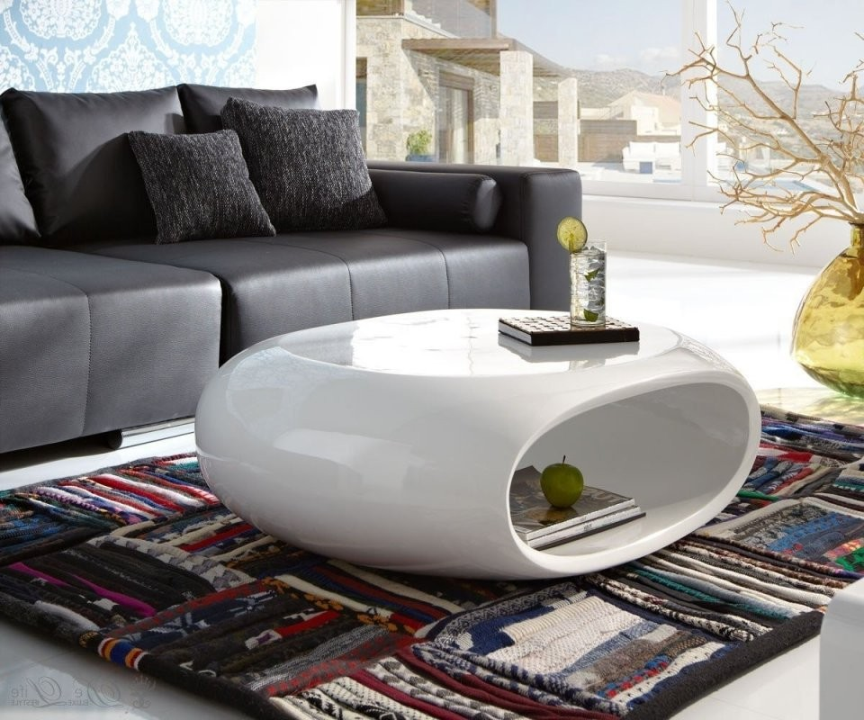 Genial Couchtisch Hochglanz Weiß Oval Ufo Ideen 830 von Couchtisch Hochglanz Weiß Oval Photo