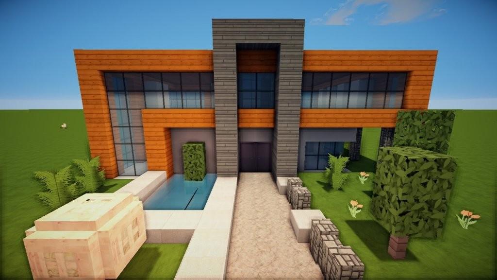 Genial Minecraft Häuser Ideen Zum Nachbauen  Inewhomesearch von Coole Minecraft Häuser Zum Nachbauen Bild
