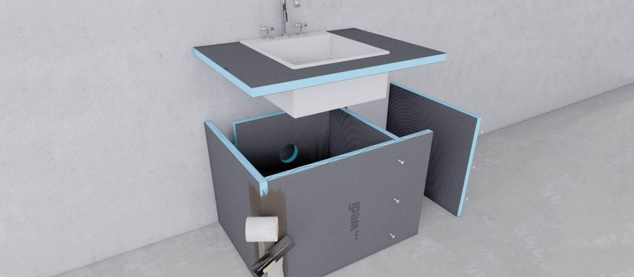 Gestalten  Konstruieren – Wedi von Waschtisch Selber Bauen Bauplatten Photo