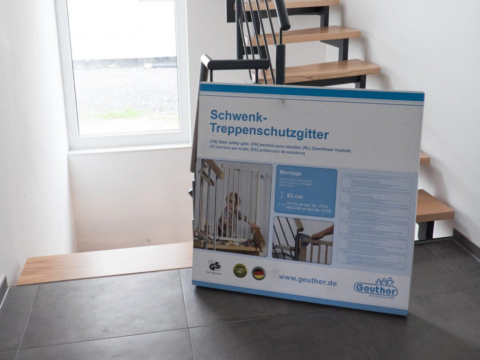 Geuther Treppenschutzgitter – Ein Haus Für Den Zwerg von Treppenschutzgitter Zum Klemmen Ikea Bild