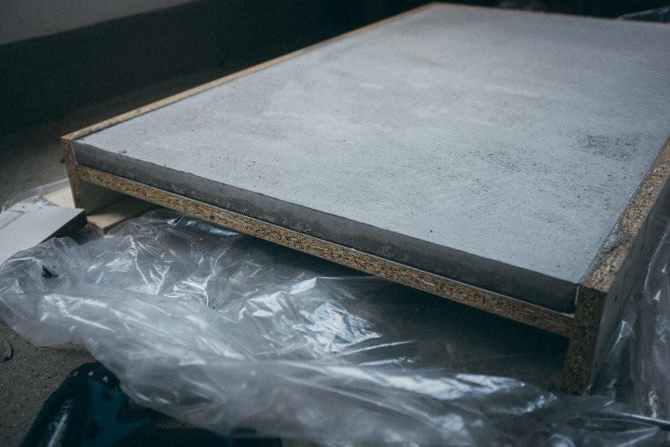 Ghostbastlers – Tischplatte Aus Beton von Couchtisch Beton Selber Machen Photo