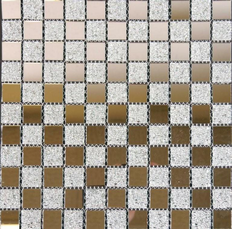 Glasmosaik Mosaik Fliesen Spiegel Spiegelmosaik Mosako Stade In von Mosaik Fliesen Günstig Restposten Bild