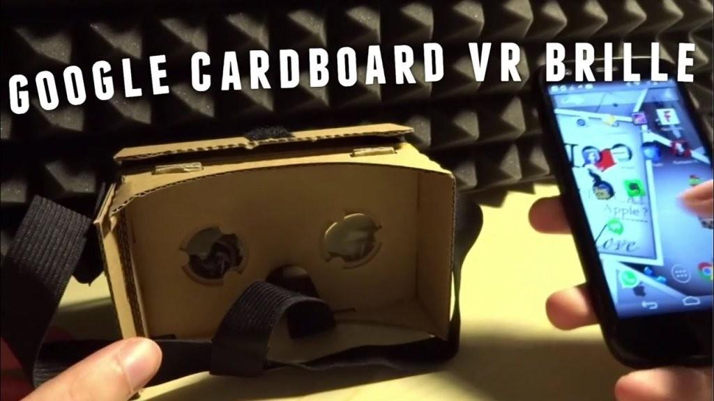 Google Cardboard Vr Brille Selber Bauen  Virtual Reality Zum von Fpv Brille Selber Bauen Bild