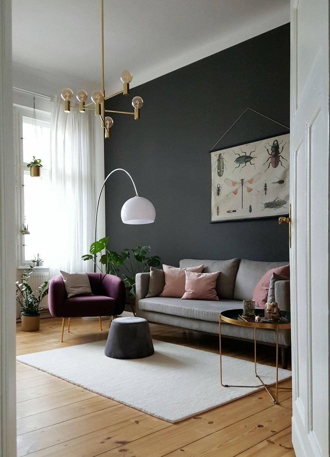 Grau Als Wandfarbe  Dezent Und Edel von Welche Wandfarbe Passt Zu Grauen Möbeln Photo