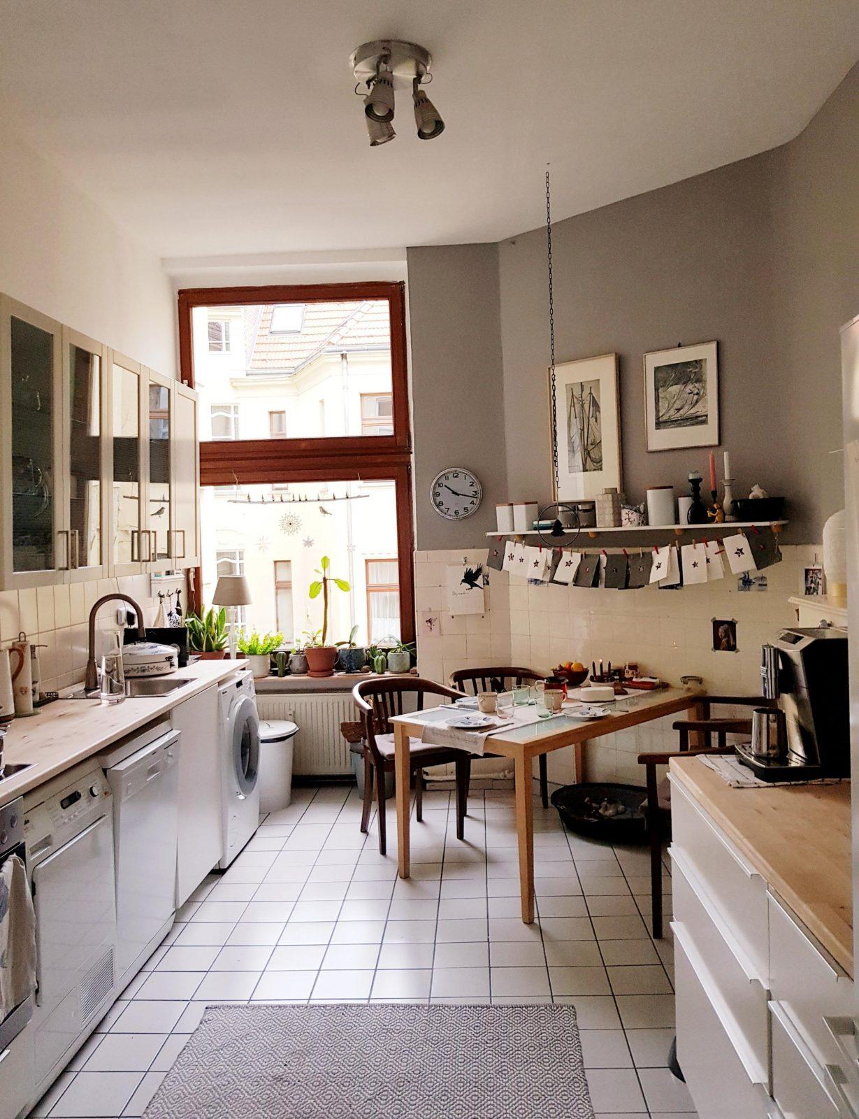 Graue Wand • Bilder  Ideen • Couch von Deko Ideen Küche Wand Bild