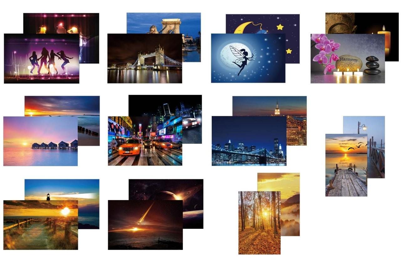 Great Leinwandbilder Mit Led Beleuchtung Photos >< Led Leinwandbild von Led Leinwandbild Selber Machen Photo
