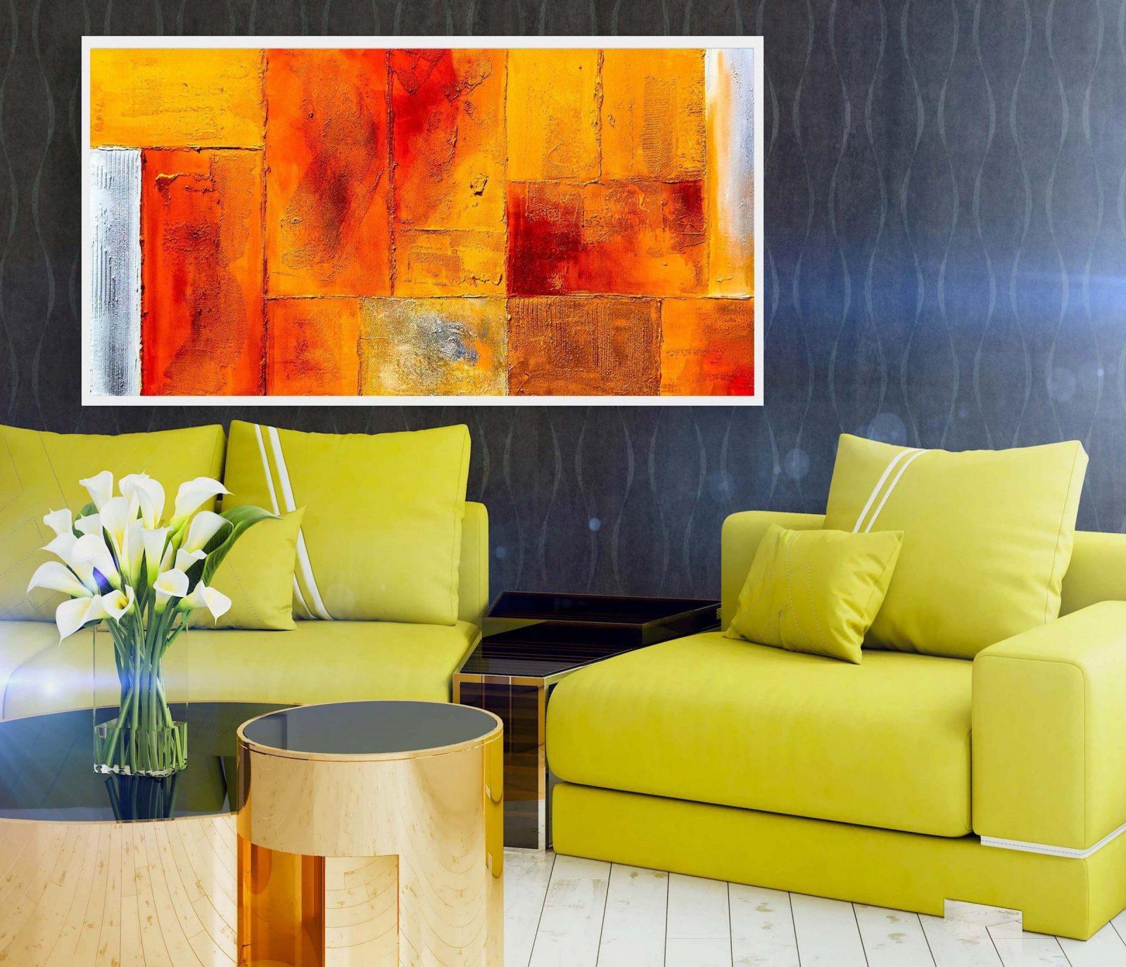 Große Abstrakte Ölgemälde Auf Leinwand Für Wohnzimmer Wohnkultur von Grosse Bilder Fürs Wohnzimmer Photo