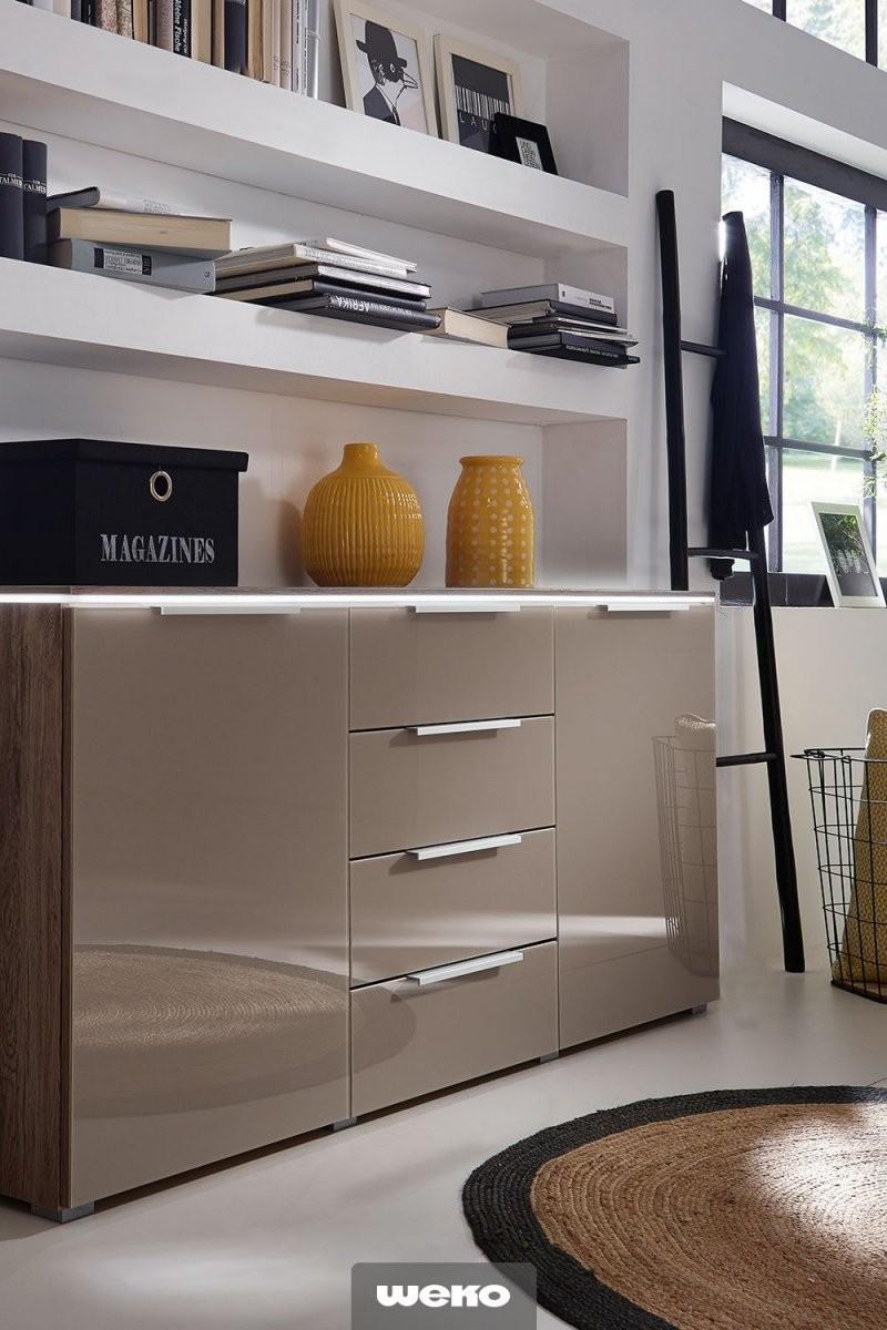 Große Auswahl An Stilvollen Massiven  Modernen Kommoden von Deko Für Schlafzimmer Kommode Bild