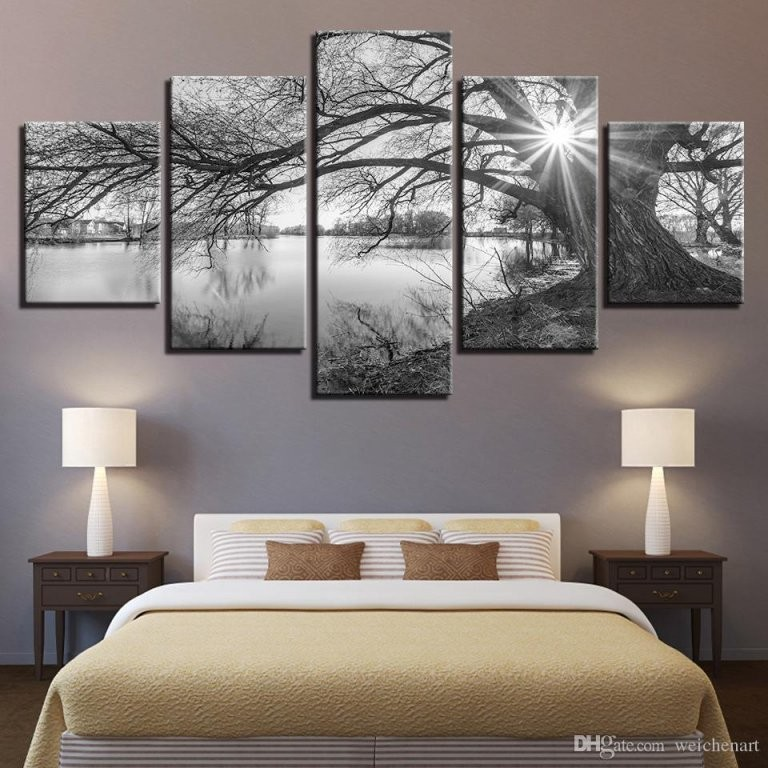 Großhandel Leinwandbilder Für Wohnzimmer Wandkunst Poster Rahmen 5 von Grosse Bilder Fürs Wohnzimmer Photo