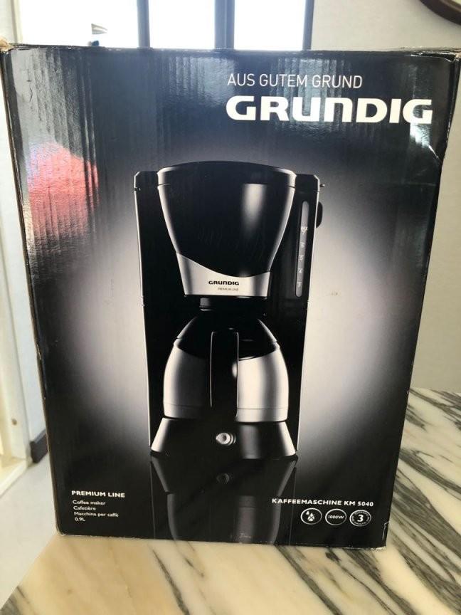 Grundig Coffee Maker Home Appliances Kitchenware On Carousell von Grundig Premium Line Kaffeemaschine Bild