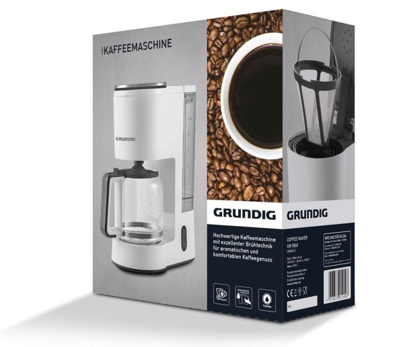 Grundig New Line Kaffeemaschine Km 5860 Mit Aroma Control  10 von Grundig Premium Line Kaffeemaschine Bild
