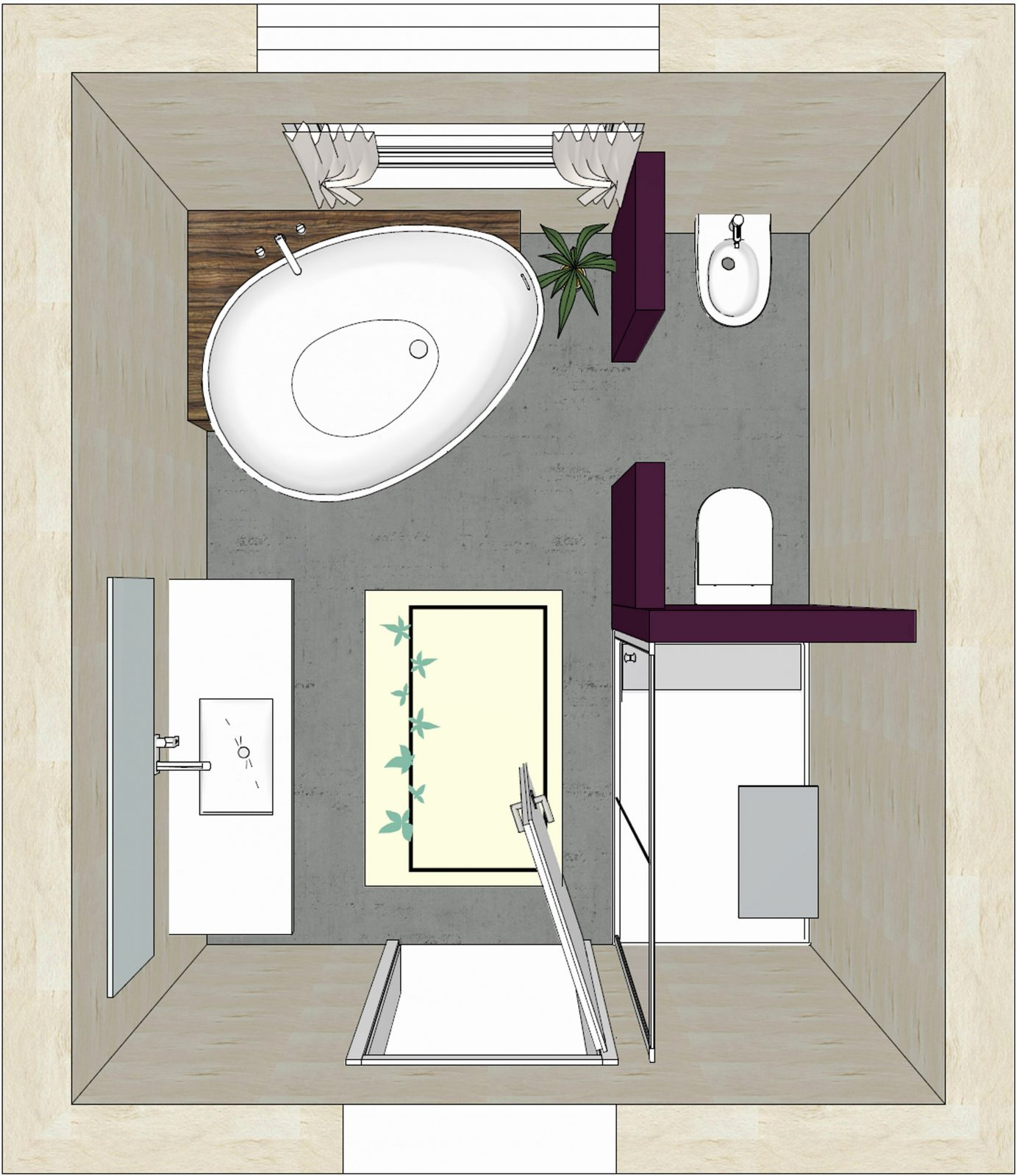 Grundriss Badezimmer 10 Qm Inspirierend Bad Grundriss Ideen  Haus von Grundriss Badezimmer 10 Qm Bild