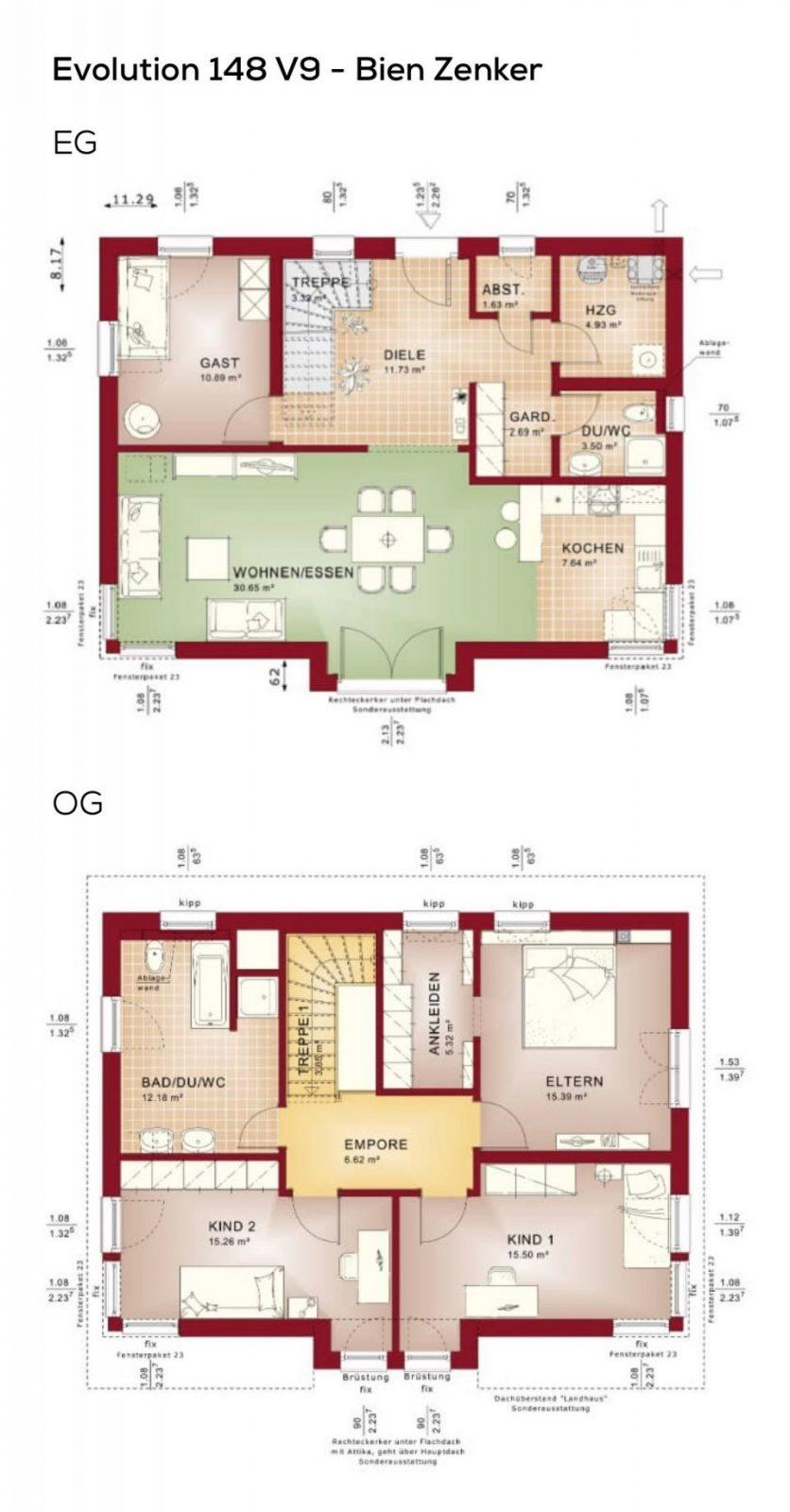 Grundriss Einfamilienhaus Mit Pultdach Architektur  5 Zimmer 150 von Grundriss Einfamilienhaus 150 Qm Photo