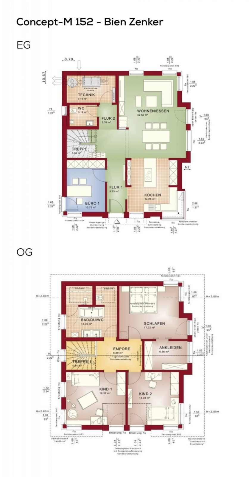 Grundriss Einfamilienhaus Modern Mit Satteldach Architektur  5 von Grundriss Einfamilienhaus 150 Qm Photo