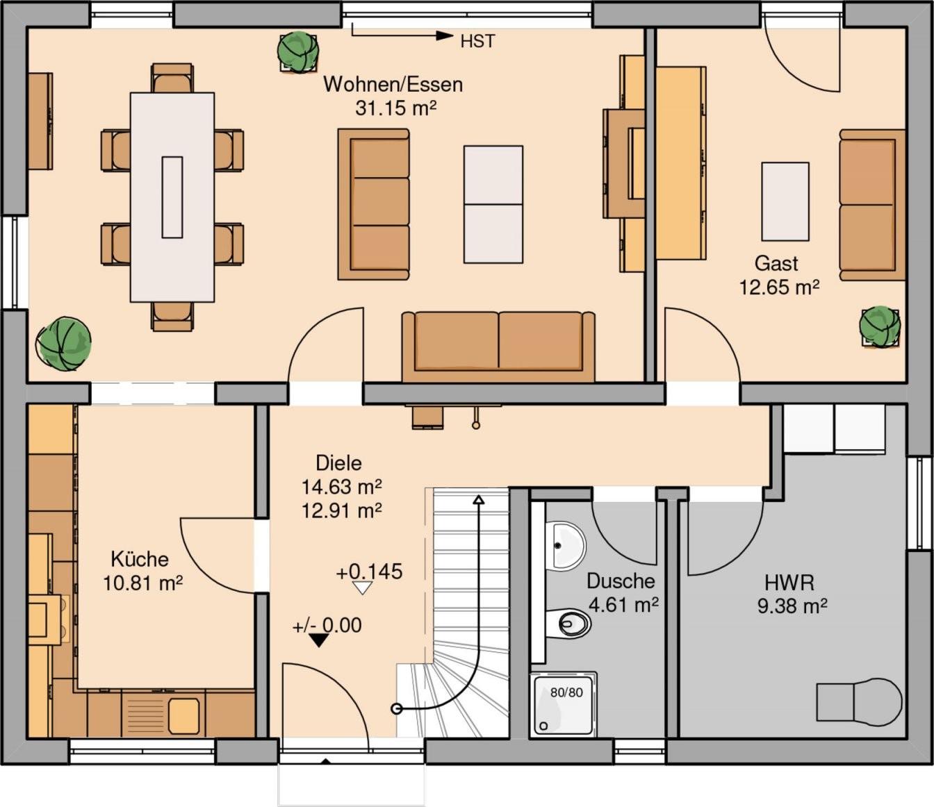 Grundrisse Haus von Langes Schmales Haus Grundriss Bild