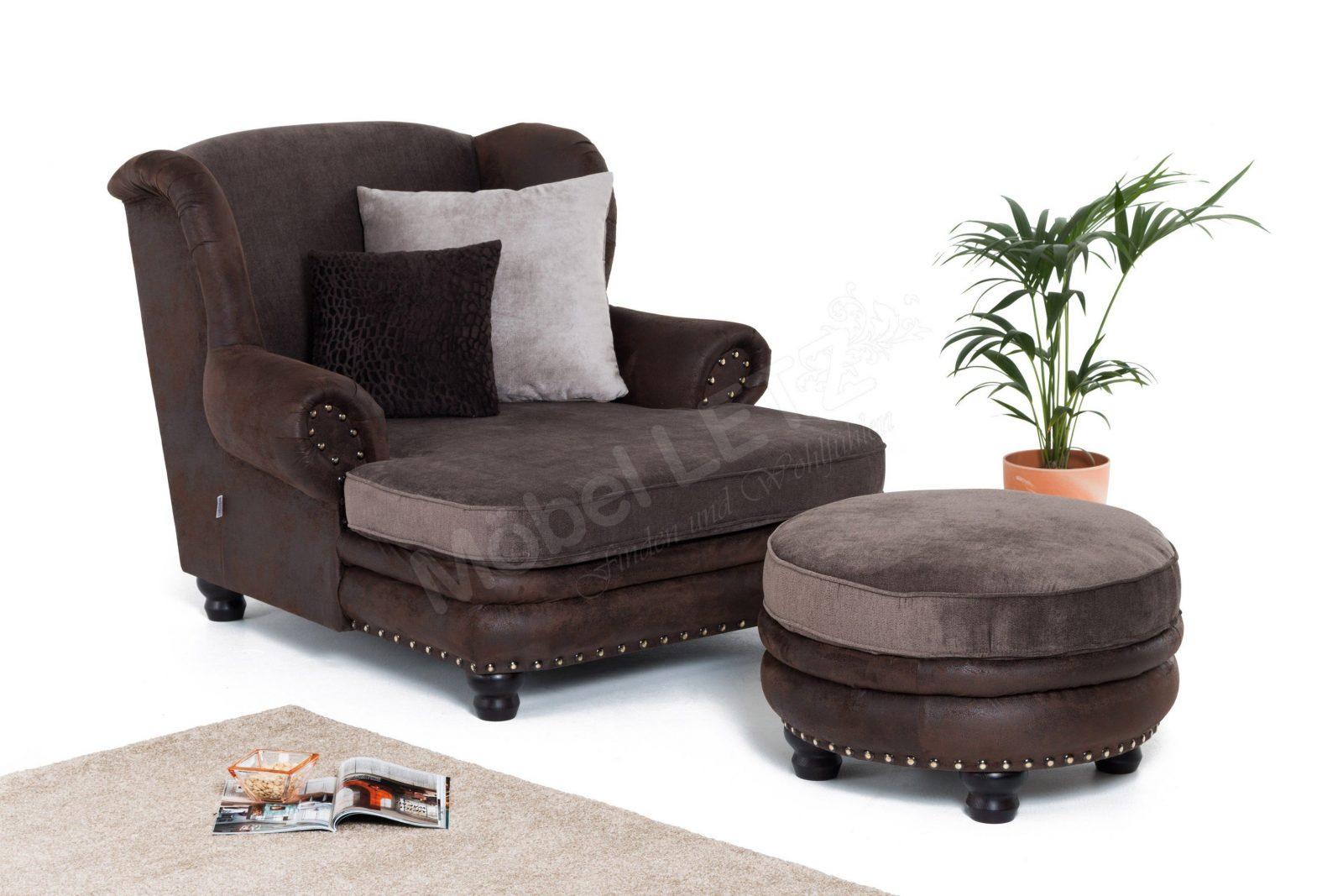 Gutmann Factory Chalet Bigsessel In Braun  Möbel Letz  Ihr Onlineshop von Gutmann Factory Big Sofa Bild
