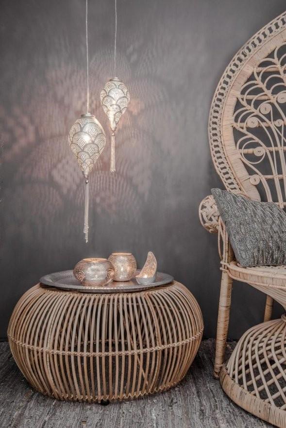 Hängelampe Romance  Filigrain  Orientalisch  Silber  S  Zenza von Orientalisch Einrichten 1001 Nacht Photo