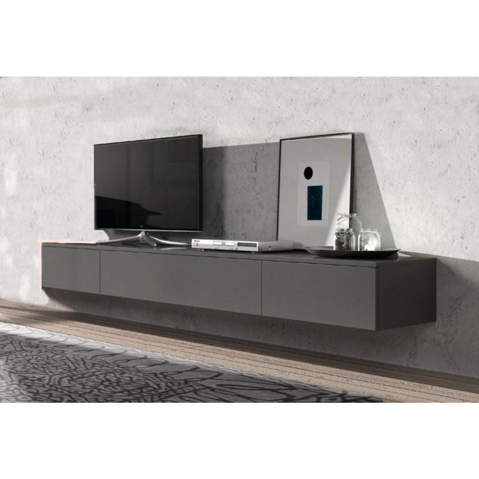 Hängend Tv Lowboard Float 221 Cm  I Live Design Preisgünstig Online von Tv Lowboard Weiß Hochglanz Hängend Bild