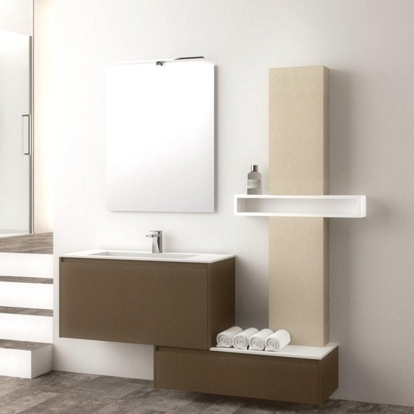 Hängender Waschtischunterschrank  Holz  Modern  Kit  Relax 1 von Waschbecken Beige Mit Unterschrank Bild