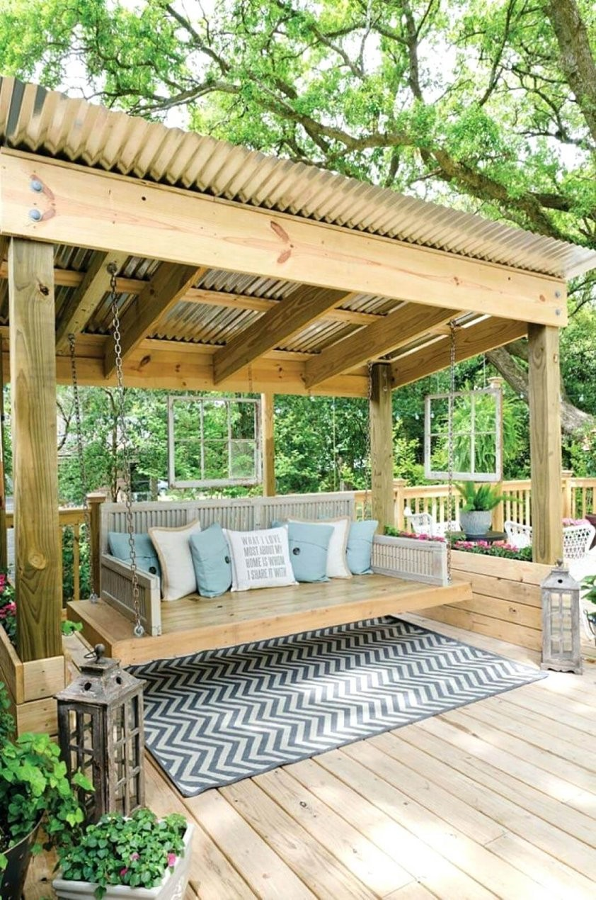 Hanging Porch Swing Canopied Porch Swing Round Hanging Porch Swing von Round Porch Swing Bed Bild