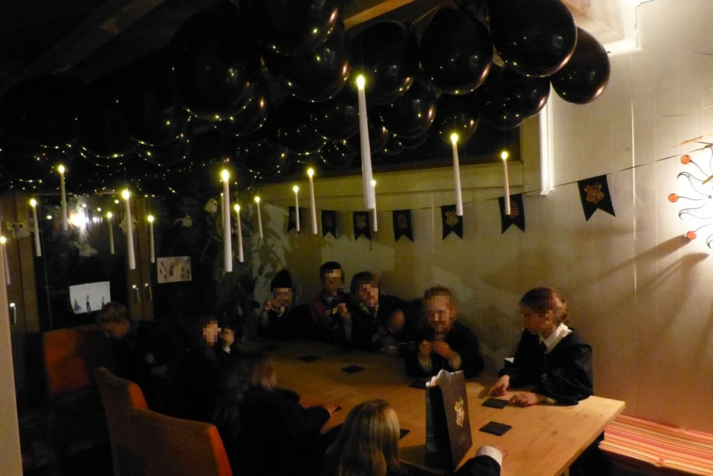 Harry Potterparty  Partyanleitung  Partiesserie von Harry Potter Deko Ideen Photo