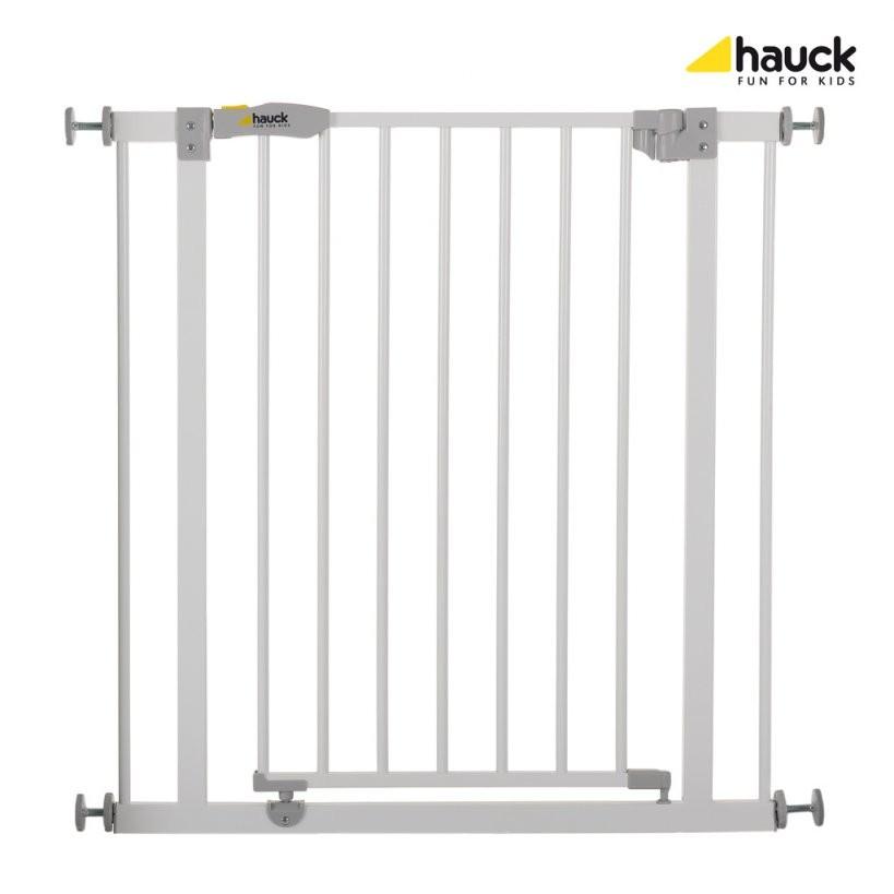 Hauck Kinderschutzgitter Open N Stop White Größe 75  Real von Kindersicherung Treppe Ohne Bohren Bild