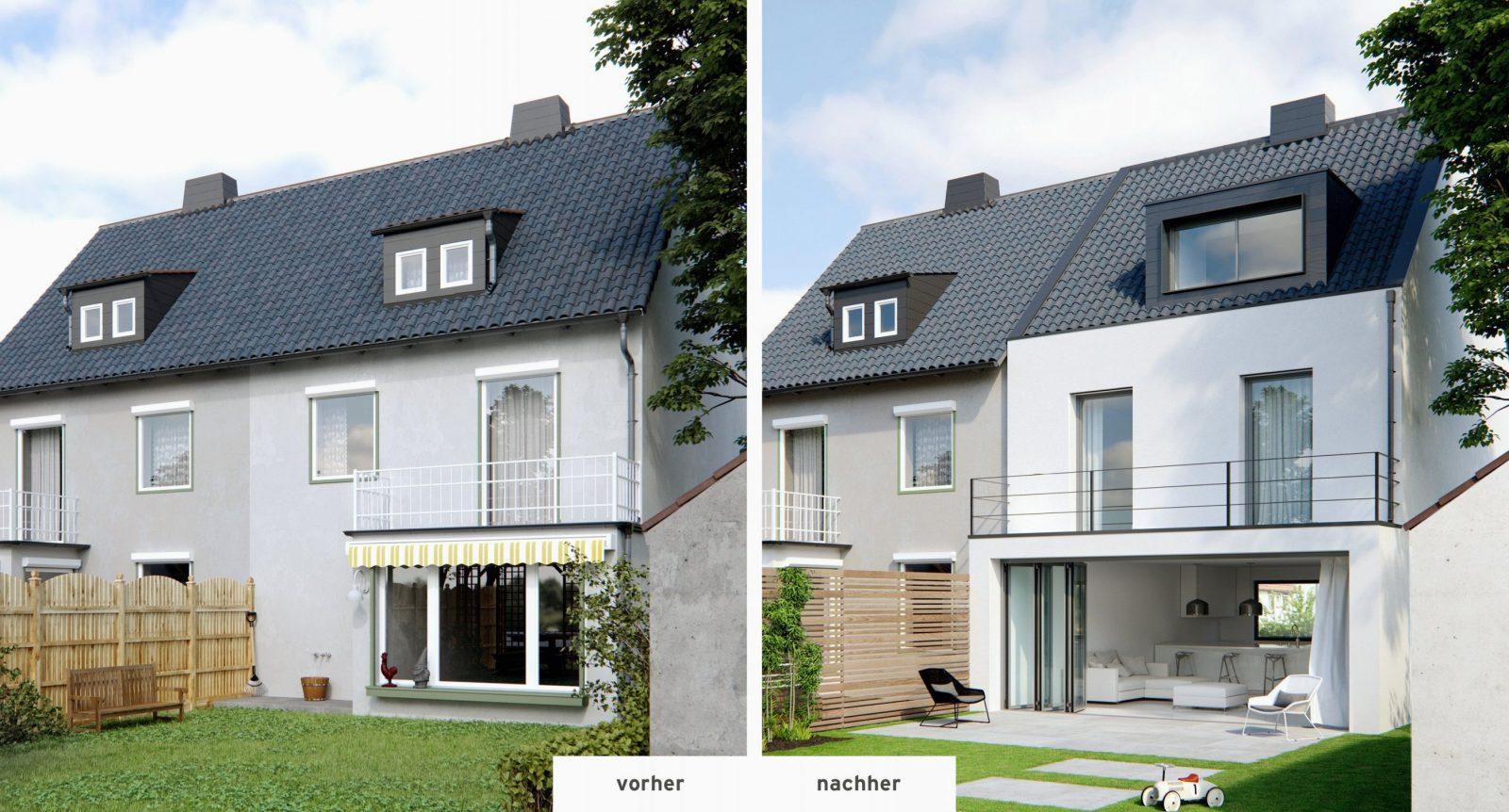Haus Aufstocken Vorher Nachher Günstige Schön Haus Umbauen Vorher von Haus Aufstocken Vorher Nachher Bild