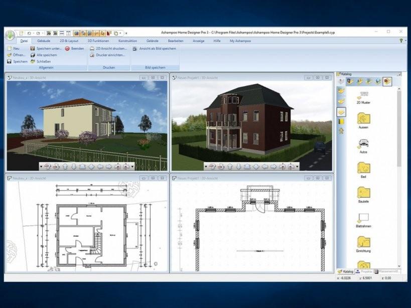 Haus Planen Mit Freeware  Diese Programme Gibt Es  Focus von Wohnung Einrichten Programm Kostenlos Bild