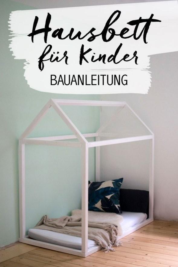 Hausbett Selbst Bauen  Kinderzimmer Ideen  Childrens Room Ideas von Kinderbett Selber Bauen Haus Photo