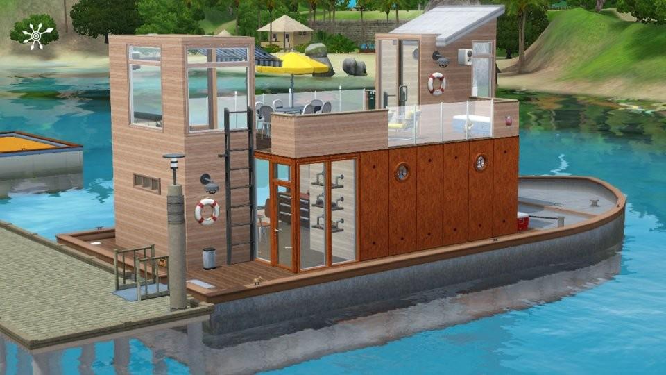 Hausboot Selber Bauen von Ponton Hausboot Selber Bauen Bild