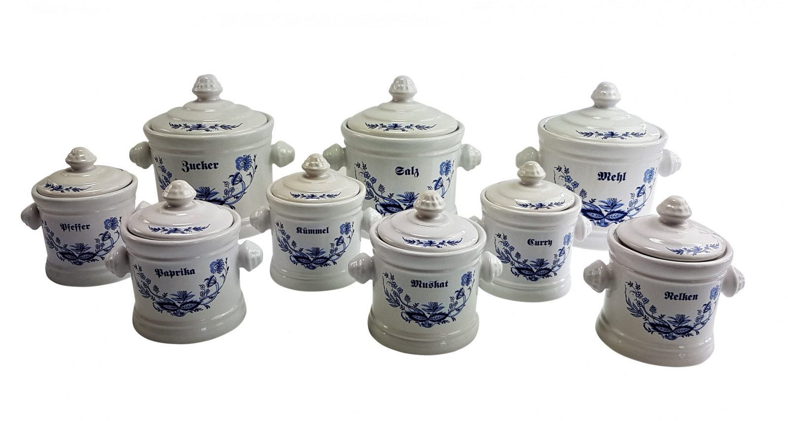 Haushaltkrausse  Vorratsdosen Gewürze+Mehl Zucker Salz  Online Kaufen von Vorratsdosen Mehl Zucker Salz Keramik Photo