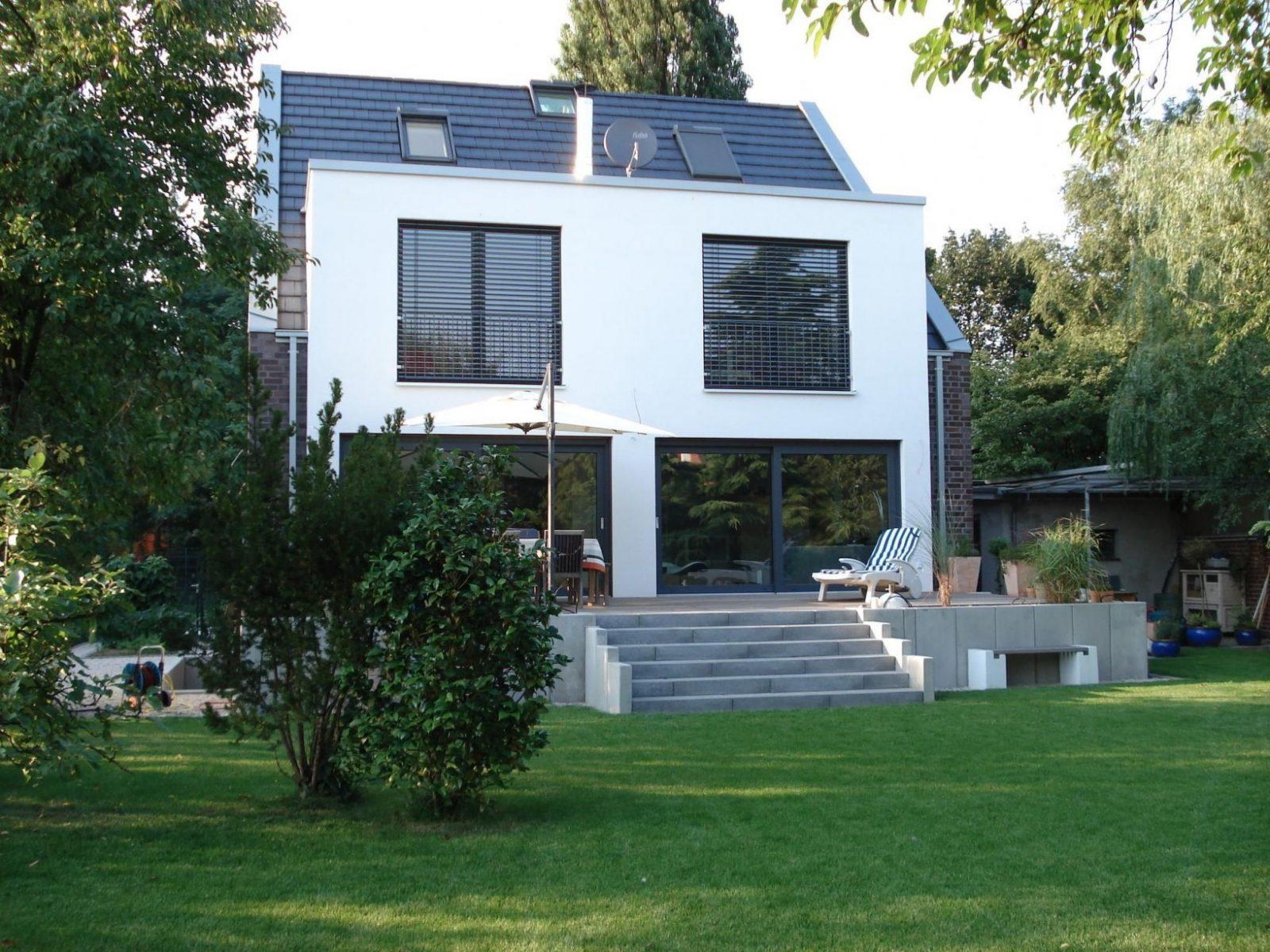 Hausumbau Vorher Nachher  Googlesuche  New House  Haus Umbau von Haus Aufstocken Vorher Nachher Bild