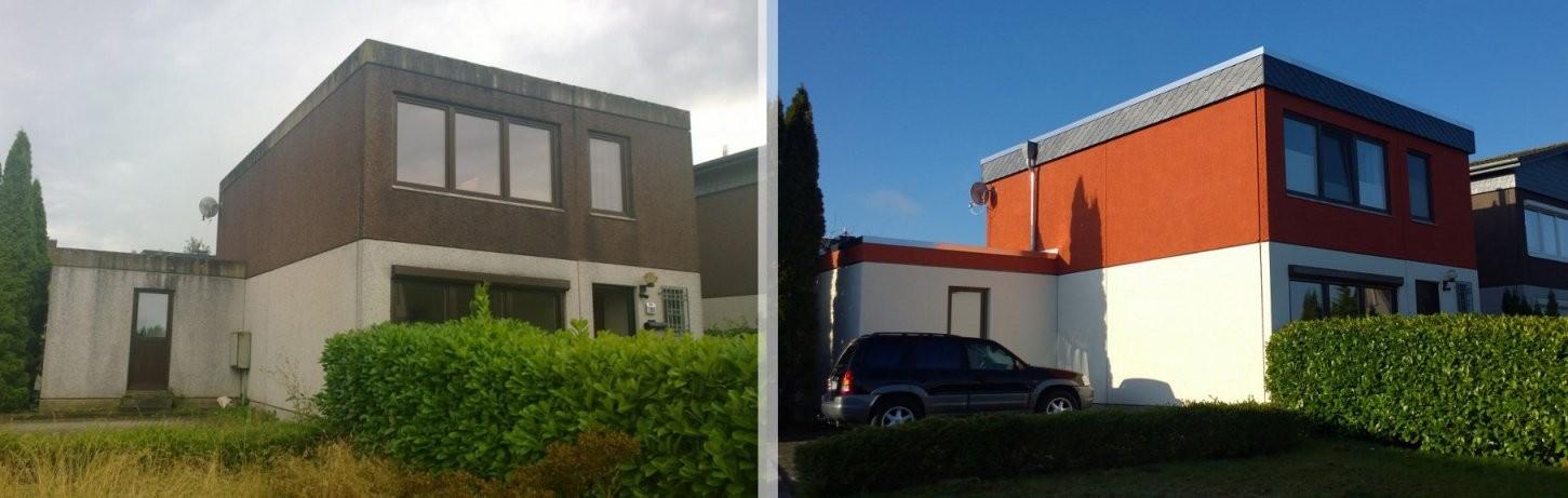 Hausumbau Vorhernachherfotos – Susanne Braunspeck von Häuser Renovieren Vorher Nachher Photo