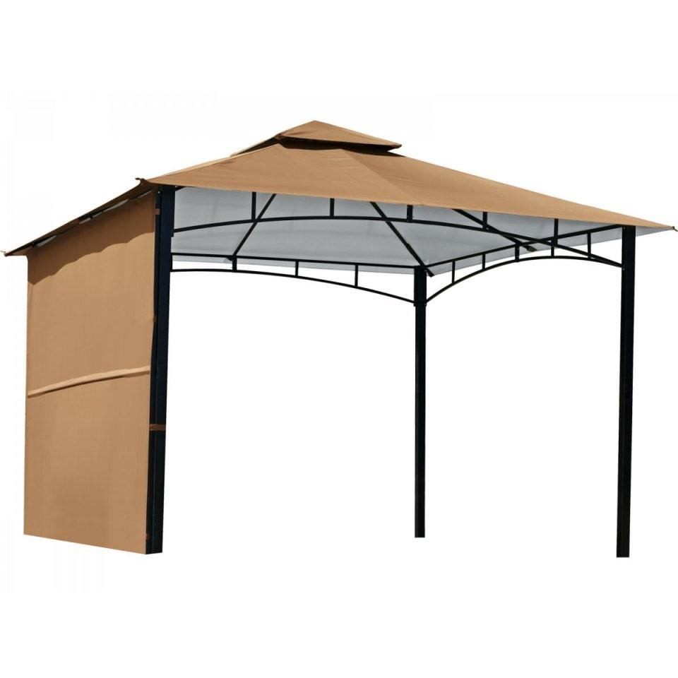 """Haveson Pavillon """"300X300 Cm"""" Ausklappbares Seitenteil Braun Bei von Seitenteile Pavillon 3X3 Beige Photo"""