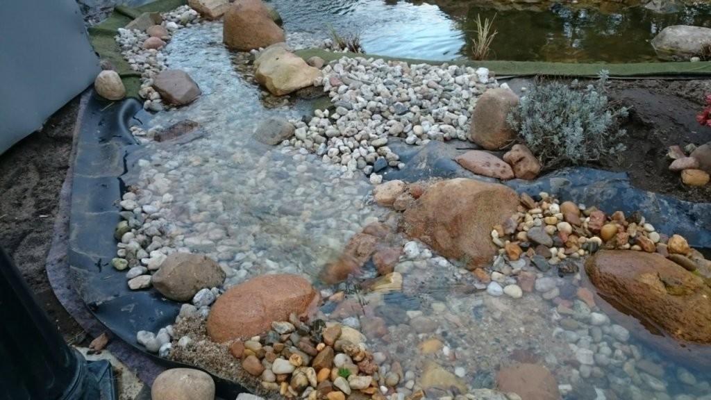 Heikos Gartenteich Bachlauf Wasserfall Teichfilter Selber Bauen Teil von Teich Mit Wasserfall Selber Bauen Photo