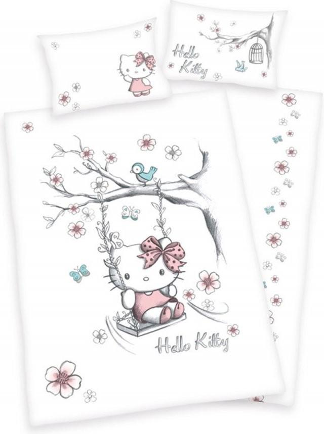 Hello Kitty Bed Linen For Children Swinging Online At Papiton von Hello Kitty Bettwäsche 100X135 Photo