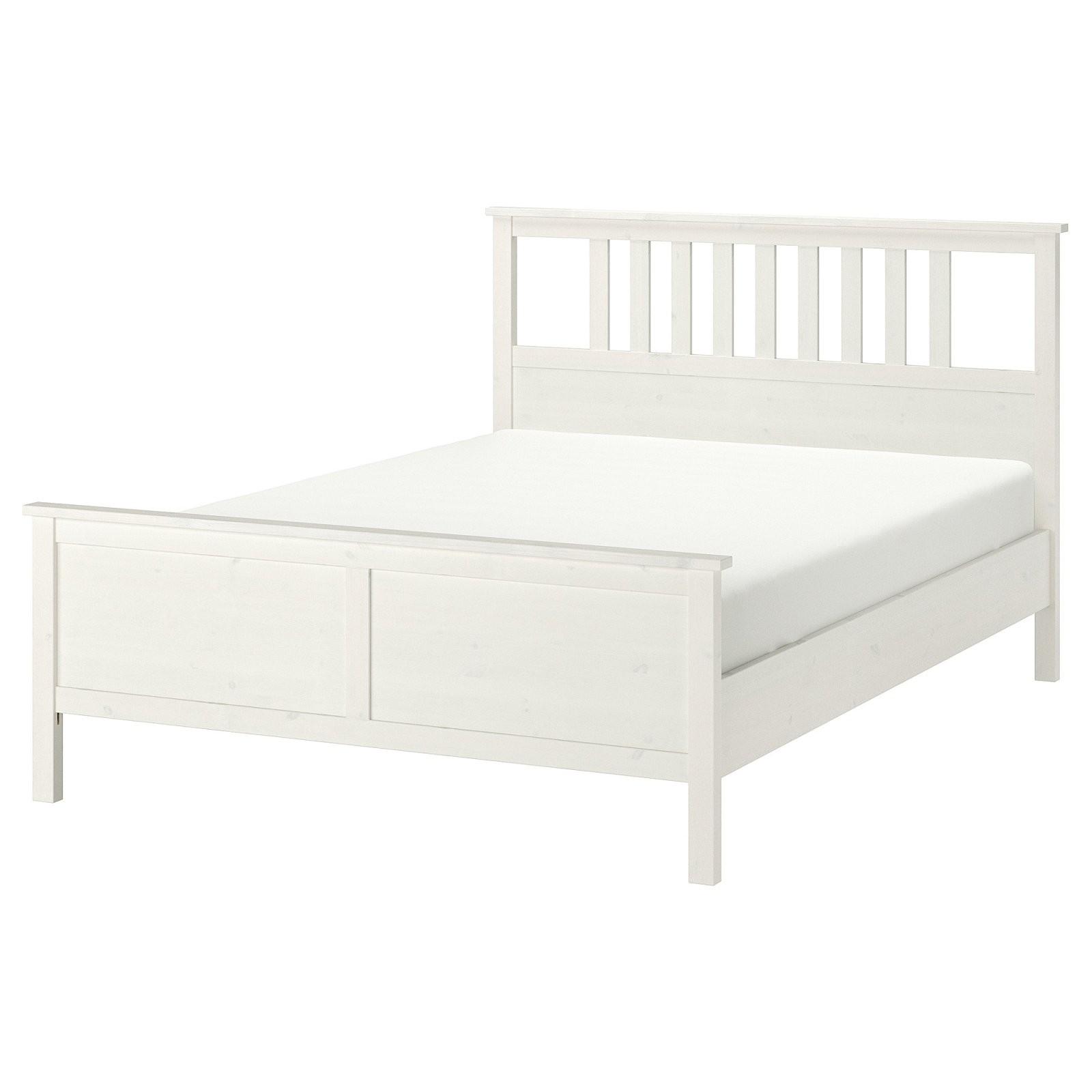 Hemnes Bettgestell  Weiß Gebeizt  Ikea von Ikea Hemnes Bett Ausziehbar Photo