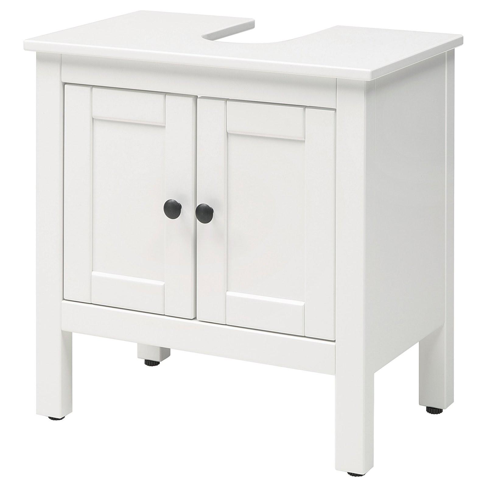 Hemnes Waschbeckenunterschrank 2 Türen  Weiß  Ikea von Waschbecken Mit Unterschrank Ikea Bild