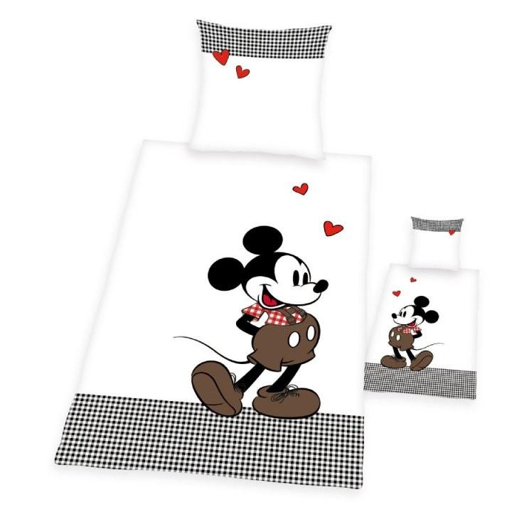 Herding Bettwäsche Mickey Mouse Classic 135 X 200 Cm  Babymarktch von Micky Und Minni Maus Bettwäsche Photo